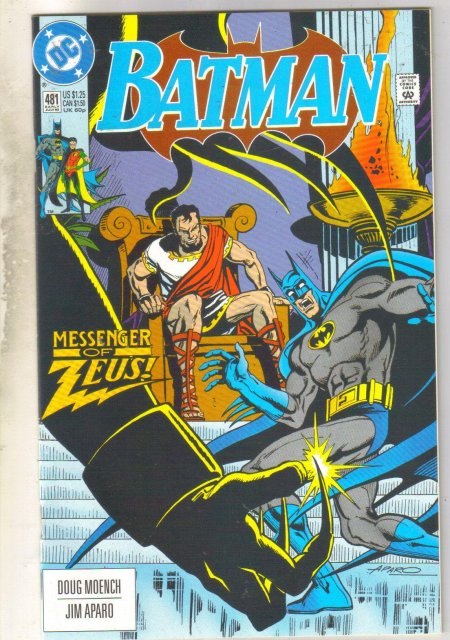 Batman #481 comic book near mint 9.4