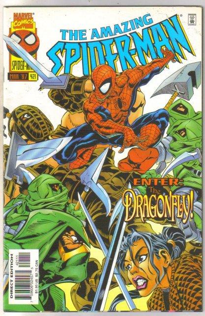 Amazing Spider-man #421 comic book near mint 9.4