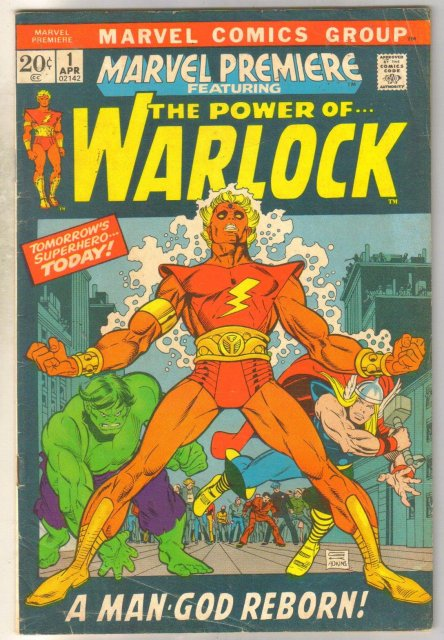 Marvel Premiere #1 featuring The Power of Warlock comic book very good/fine 5.0