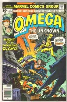 Omega the Unknown #4 comic book very fine 8.0