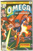 Omega the Unknown #5 comic book very fine 8.0