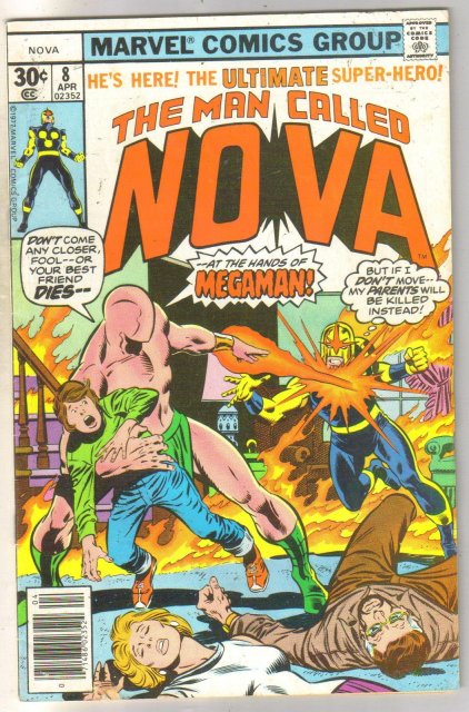 The Man Called Nova #8 comic book very fine 8.0