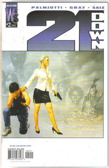 21 Down #2 comic book mint 9.8
