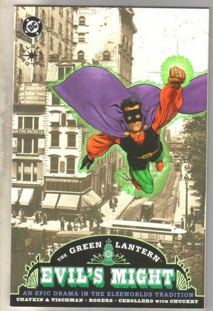 Green Lantern Evil's Might #1 comic book mint 9.8