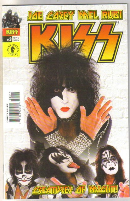 Kiss #3 comic book mint 9.8