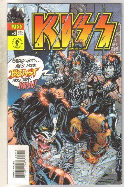 Kiss #2 comic book mint 9.8