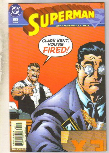 Superman #183 comic book mint 9.8
