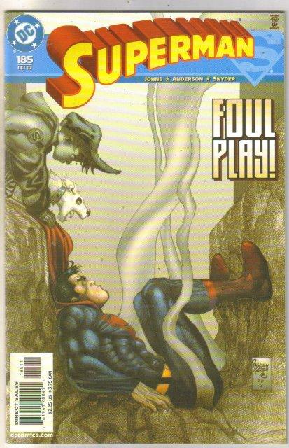 Superman #185 comic book mint 9.8
