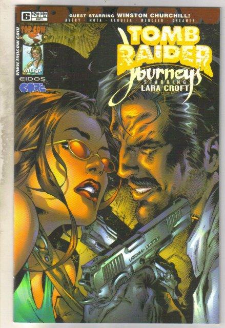 Tomb Raider Journeys with Lara Croft #6 comic book mint 9.8