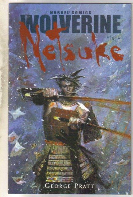 Wolverine Netsuke #1 comic book mint 9.8