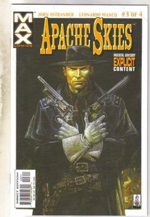 Apachie Skies #3 comic book mint 9.8