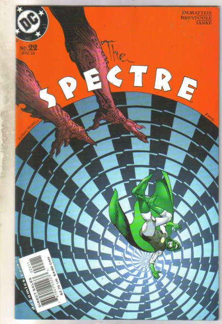 Spectre #22 comic book mint 9.8