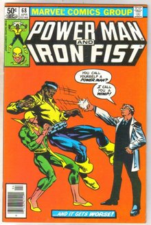 Power Man and Iron Fist #68 comic book very fine 8.0