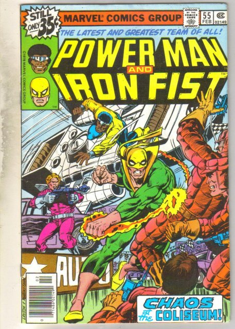 Power Man and Iron Fist #55 comic book fine 6.0