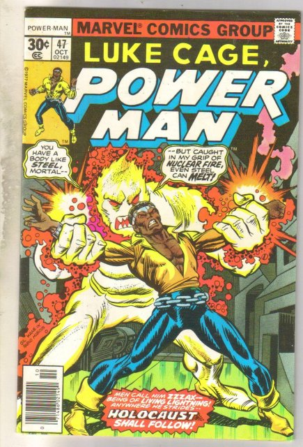 Luke Cage, Power Man #47 comic book very fine 8.0