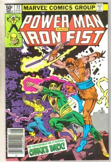 Power Man and Iron Fist #72 comic book very fine 8.0