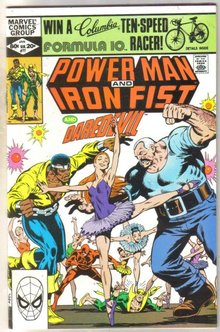 Power Man and Iron Fist #77 comic book mint 9.8