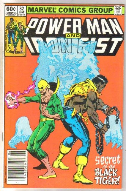 Power Man and Iron Fist #82 comic book near mint 9.4