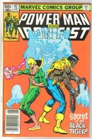 Power Man and Iron Fist #82 comic book near mint 9.4