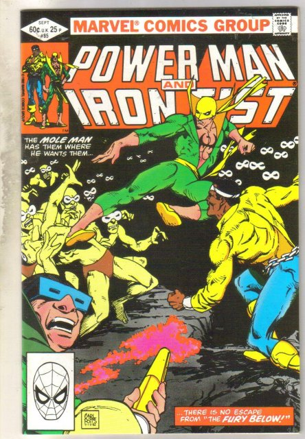 Power Man and Iron Fist #85 comic book near mint 9.4