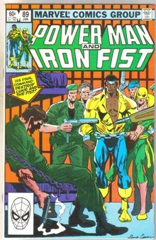 Power Man and Iron Fist #89 comic book near mint 9.4