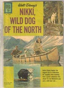 Nikki, Wild Dog of the North #1226 comic book very good 4.0