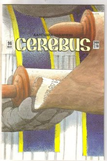 Cerebus #96 comic book near mint 9.4
