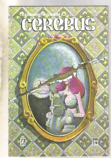 Cerebus #73 comic book mint 9.8