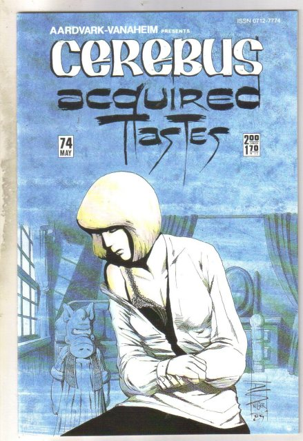 Cerebus #74 comic book mint 9.8