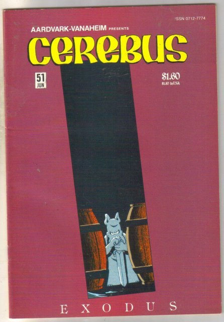 Cerebus #51 comic book near mint 9.4