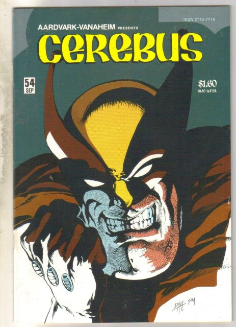 Cerebus #54 comic book near mint 9.4