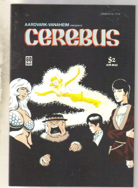 Cerebus #60 comic book mint 9.8
