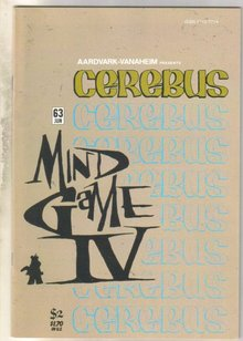 Cerebus #63 comic book mint 9.8