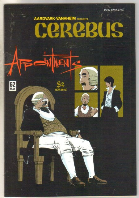 Cerebus #62 comic book mint 9.8