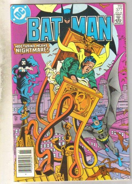 Batman #377 comic book near mint 9.4