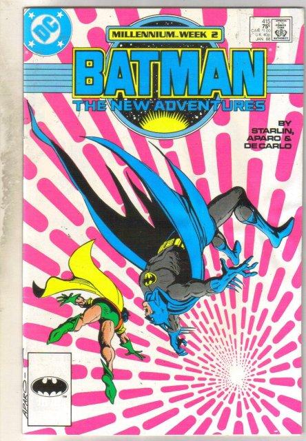 Batman #415 comic book very good 4.0