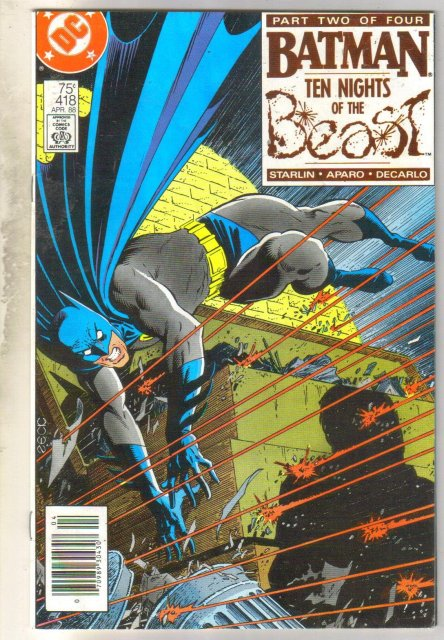 Batman #418 comic book fine 6.0