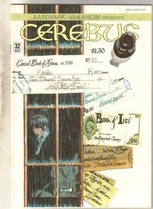 Cerebus #32 comic book mint 9.8