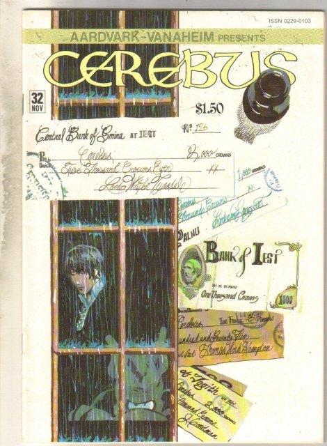 Cerebus #32 comic book mint 9.8