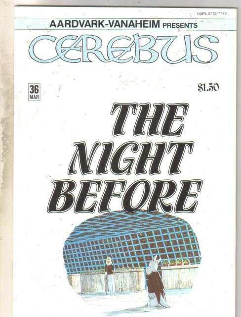 Cerebus #36 comic book mint 9.8