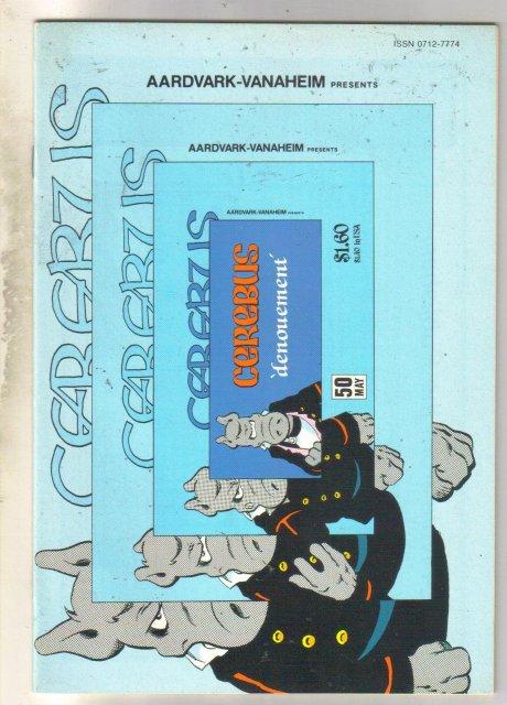 Cerebus #50 comic book very fine 8.0