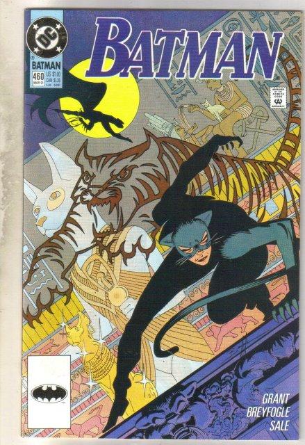 Batman #460 comic book near mint 9.4