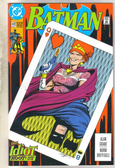 Batman #472 comic book near mint 9.4