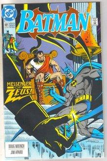 Batman #481 comic book near mint 9.4