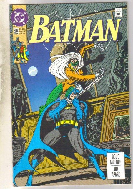Batman #482 comic book near mint 9.4