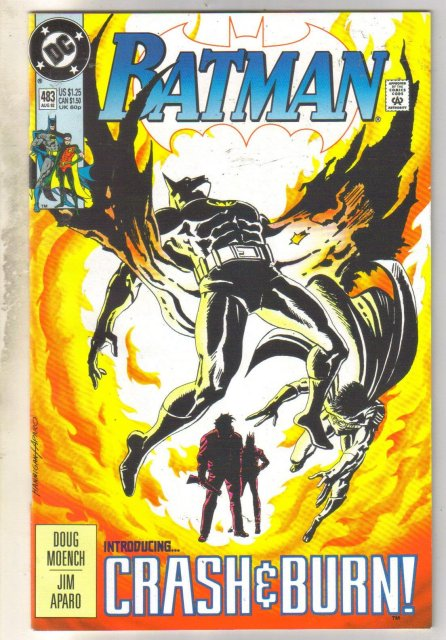 Batman #483 comic book near mint 9.4