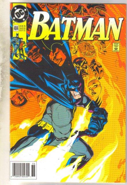 Batman #484 comic book near mint 9.4