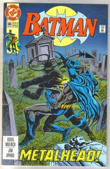 Batman #486 comic book near mint 9.4