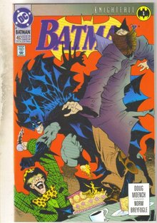 Batman #492 comic book mint 9.8