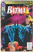 Batman #493 comic book near mint 9.4
